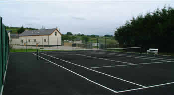 Ballymorran Self Catering Accommodation features many local amenities including an on-site Tennis Court for the use of guests