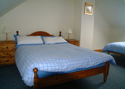 Master Bedroom - Comfortable and spacious sleeping accommodation with stunning views over Strangford Lough, Northern Ireland