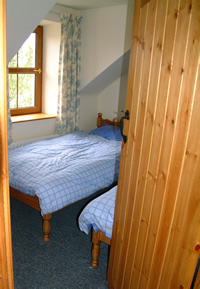 Bedroom 1 - Offering Twin Beds again with wonderful views over Strangford Lough - all part of Ballymorran Self Catering Holiday Accommodation